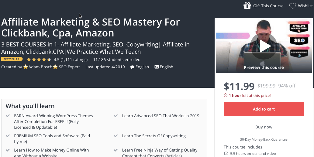 best amazon course 2019 blog