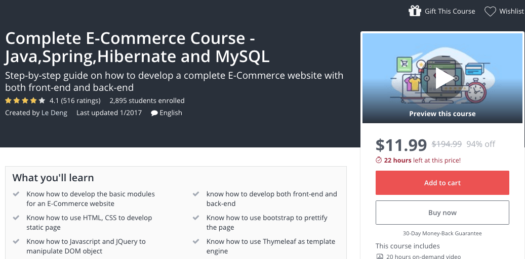 20 Best Ecommerce Courses - Updated Feb 2019