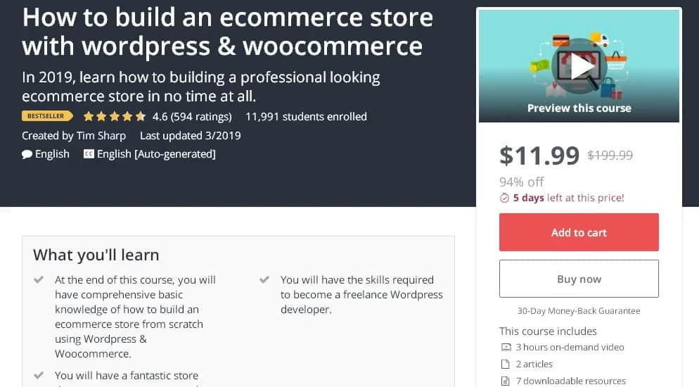 15 Best WooCommerce Courses To Get More Sales