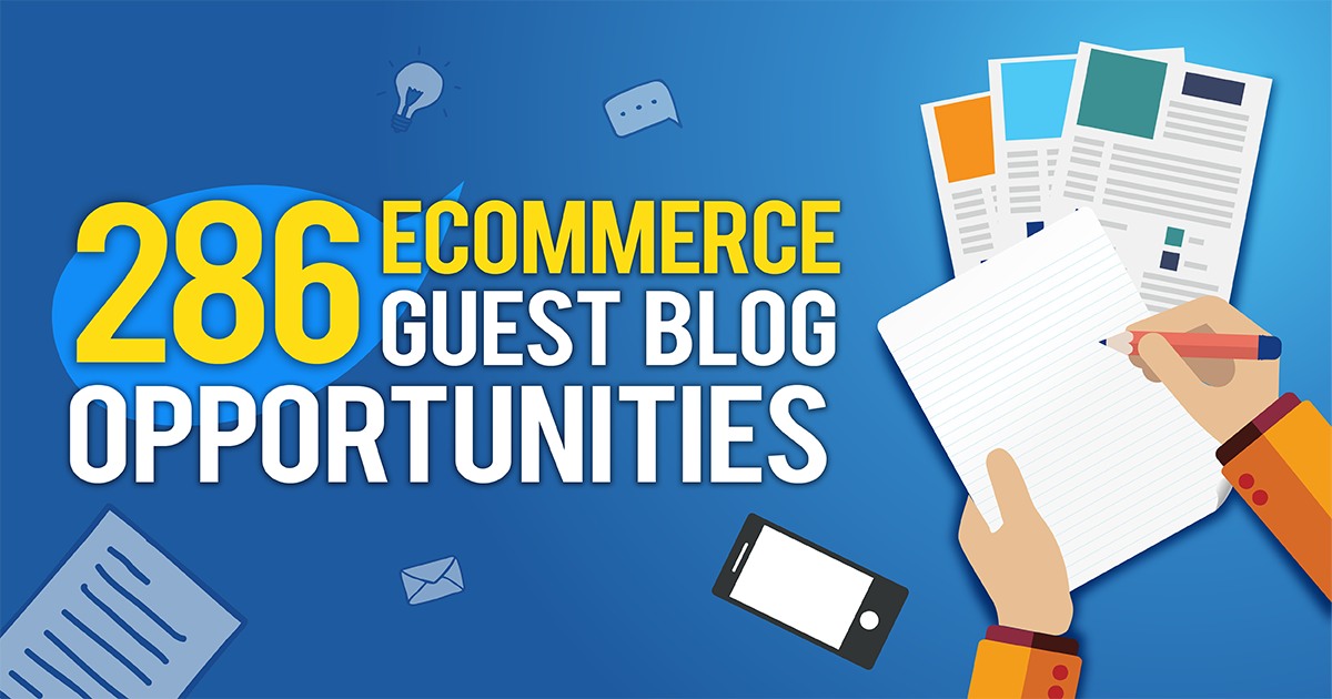 eCommerce Guest Blogging